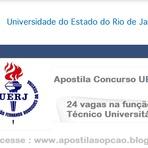 Apostila  Concurso Universidade do Estado do Rio de Janeiro (UERJ) 2015