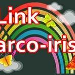 Como colocar os link com efeito arco iris no blog