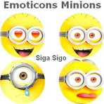 Emoticons Que Se Mexem: Minions