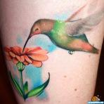 Design - Mais de 70 Tatuagens de beija-flor