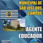 Apostila Concurso Prefeitura de São José dos Campos 2015 - Agente Educador