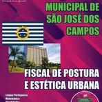 Apostila Concurso Prefeitura Municipal de São José dos Campos 2015 -  Fiscal de Posturas e Estética Urbana