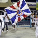 Shayene Santos é a nova primeira porta-bandeira da União da Ilha