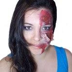 Makeup Zombie para Halloween