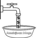 Desenhos Colorir: Economizar Água 2