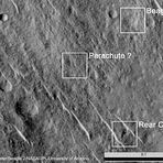 Espaçonave perdida é encontrada em Marte