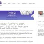 Twitch.tv anuncia convenção em setembro deste ano