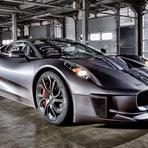 Automóveis - Jaguar C-X75 será o carro do vilão em 007 Spectre