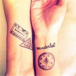 Tatuagens para quem ama Viajar!