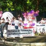 Aprovados do Banco Central fazem nova manifestação exigindo posse