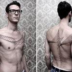 Design - As tatuagens geométricas complexas de Chaim Machlev