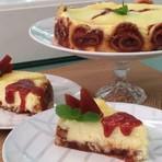 Cheesecake de Rolo receita Mais Você 24/02/2015