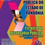 Apostila Concurso DPE-RO 2015 - Defensoria Pública - Especialidade: Técnico Administrativo