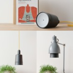 Portáteis - Projetor portátil inteligente que funciona como uma lâmpada