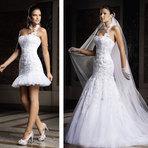Modelos de vestidos 2 em 1