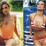 Veja Fotos! Panicat Aricia Silva exibe curvas em ensaio para revista