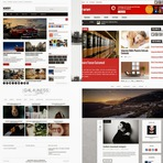Blogosfera - +50 Layouts responsivos gratuitos para blogger.
