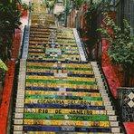 Turismo - Escadaria Selarón (Rio de Janeiro)