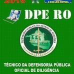 Apostila Tecnico Defensoria Publica Oficial de Diligencia DPE RO Concurso 2015 - Apostilas So Concursos
