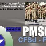 Apostila Concurso da Polícia Militar / SC Curso de Formação de Soldado PM - Praças PM/SC CFSd