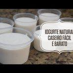 Receita caseira: iogurte natural fácil, barato e saudável