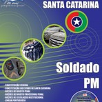 Apostila Digital Concurso Polícia Militar de Santa Catarina SC 2015 SOLDADO PM