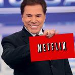 Silvio Santos faz propaganda do Netflix e ganha assinatura vitalícia