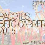 PACOTES PARA BETO CARRERO 2015