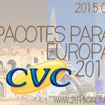 PACOTES PARA EUROPA 2015 CVC