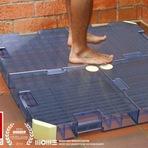 Meio ambiente - Sistema reaproveita até 90% da água do chuveiro