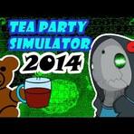 AFONSO É UM URSO TÍMIDO - Pitú No Controle #01 |Tea Party Simulator
