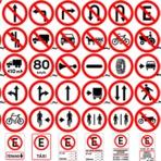 Enxergando sinalizações de trânsito.