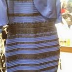 O mistério do Branco e Dourado ou Azul e Preto.