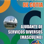 Apostila AJUDANTE DE SERVIÇOS DIVERSOS 2015 - Concurso Prefeitura de Cotia