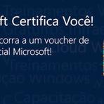 Ganhe uma certificação da Microsoft com voucher de até 100%