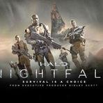 Cinema - Halo Nightfall, 2015. Trailer. Ação e ficção cientifica. Ficha técnica.