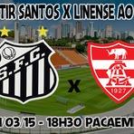 Assistir Santos x Linense ao vivo 01/03/15 pelo Campeonato Paulista