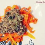 Macarrão de cenoura