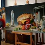 Arte & Cultura - Pinturas feitas com comidas!