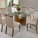 Mesas e cadeiras para sala