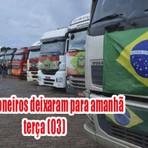 Atenção: Greve dos caminhoneiros foi cancelado em Brasília