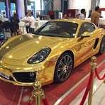 Você já viu um Porsche folheado a ouro?
