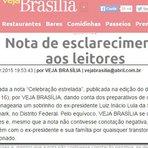 Veja admite que mentiu e pede desculpas a Lula