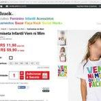 """Apresentador Luciano Huck cria maior polêmica ao vender camiseta infantil com frase """"Vem ni mim que eu tô facin"""""""