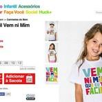 Camiseta infantil da marca UseHuck gera polêmica por estampa: 'Vem ni mim que eu tô facin'