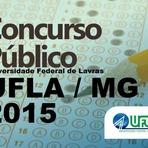 Edital Concurso UFLA - Universidade Federal de Lavras - MG 2015
