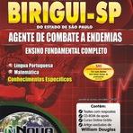 Apostila Prefeitura Municipal de Birigui Agente de Combate a Endemias - Edital - SP - 2015