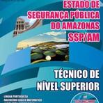 Apostila Completa 2015 TÉCNICO DE NÍVEL SUPERIOR - Concurso Secretaria de Segurança Pública do Amazonas CD GRÁTIS