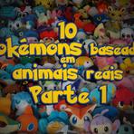 10 Pokemons baseados em animais reais – Parte 1