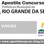 Apostila Concurso Prefeitura do Rio Grande da Serra-SP  (CD GRÁTIS) 2015